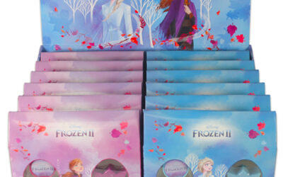 Frozen II displays voor Desire Fragrances